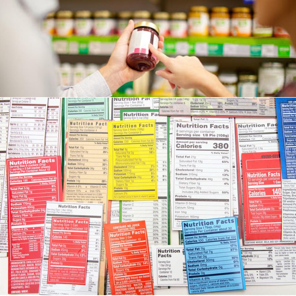 Etichette prodotti alimenetari